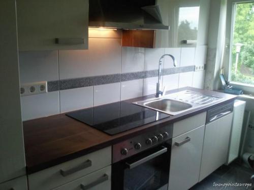 Genuß fängt in der Küche an - ein perfekter Ort - von uns geplant.